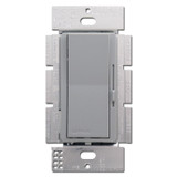 Gray Rocker Light Switches - 1000 W Preset Dimmer Lever