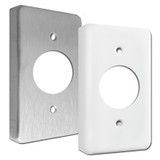 "Extra Deep Single 1.4"" Round Receptacle Wall Switch Plate Covers"