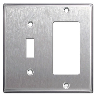 Blank Cover Plate additionally Levquicflusm as well Switch Plates Outlet Covers moreover 33922254 furthermore Steel Blank Wall Plates. on leviton 2 gang wall plate stainless combo