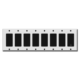 8 Rocker Switch Plates