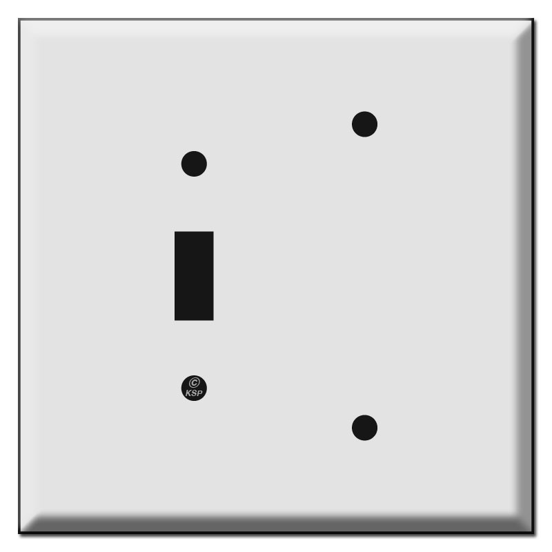 Oversized Toggle Blank Combination Light Switch Plates
