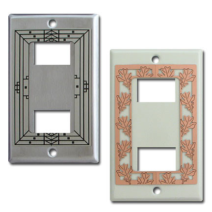 Decorative two ge original low voltage wall switch plates - Wall switch plates decorative ...