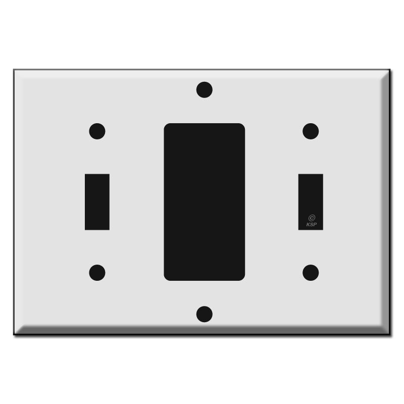 1 toggle 1 decora 1 toggle combo light switch plate covers for Decora light switches