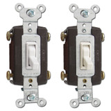 4-Way 15A Pass & Seymour Toggle Light Switches