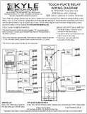 Touch-Plate 3000 Low Voltage Relay Switch Wiring Instructions