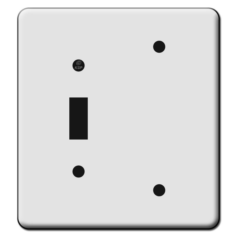 Tall 1 Toggle 1 Blank Switch Plate Covers Kyle Switch Plates