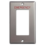 Emergency Decora for Critical Location Switch Plate Covers