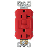 GFCI Protected Outlet Self Test 20A - Red