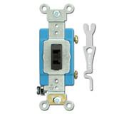 Leviton 15A Brown Lock Switch & Key
