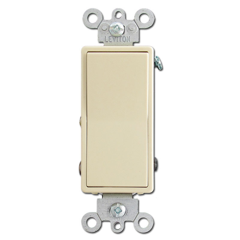 Ivory 15 amp 3 way decora light switches kyle switch plates for Decora light switches