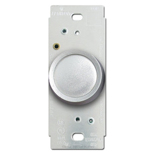 silver leviton rotary light dimmer switch kyle switch plates. Black Bedroom Furniture Sets. Home Design Ideas