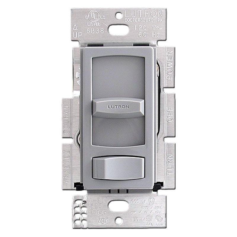 gray lutron skylark dimming rocker switch for led and cfl. Black Bedroom Furniture Sets. Home Design Ideas