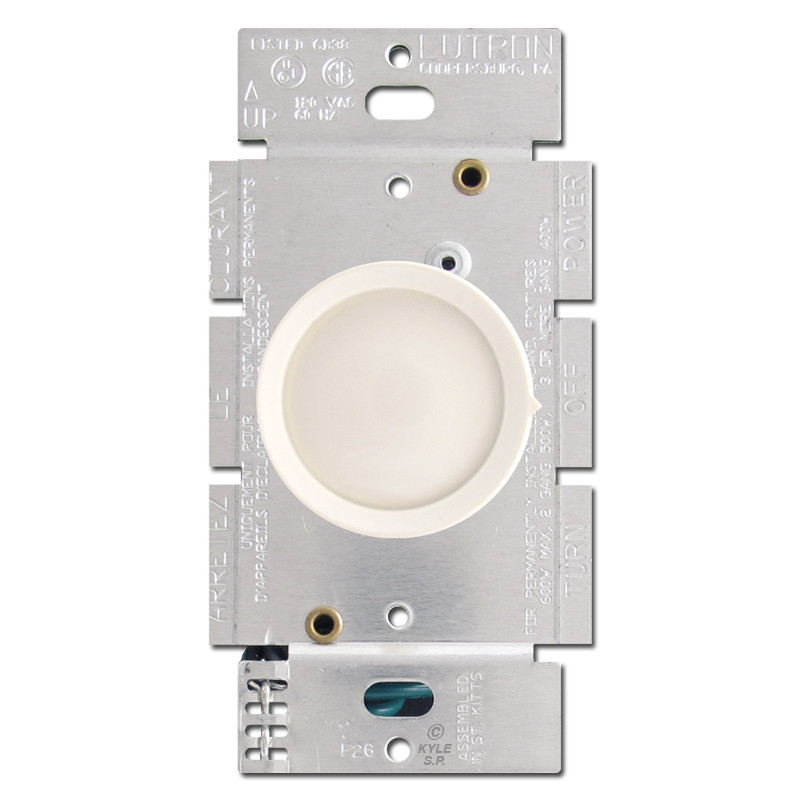 outlets light switches light almond lutron rotary dimmer switches. Black Bedroom Furniture Sets. Home Design Ideas