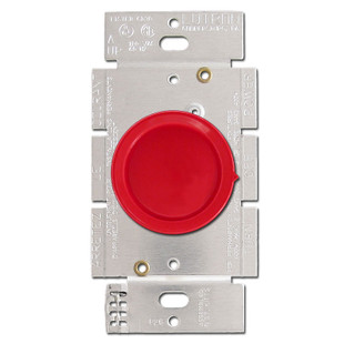 red lutron rotary dimmer switches kyle switch plates. Black Bedroom Furniture Sets. Home Design Ideas