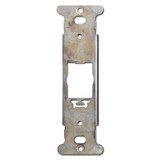 Vertical Despard Wall Plate Straps with Screw Holes