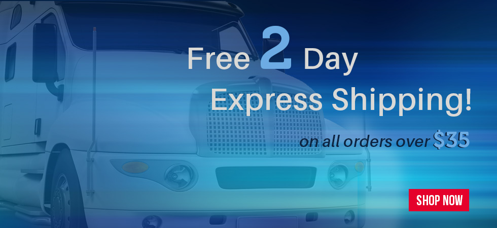 Free 2 Day Express Shipping