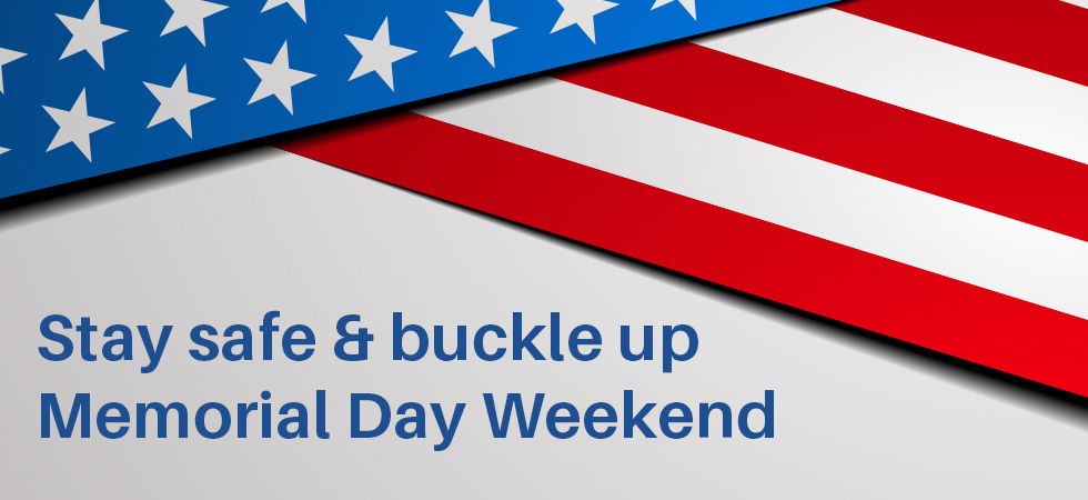 Seat Belt Extender Pros wishes everyone safe travels this Memorial Day Weekend.