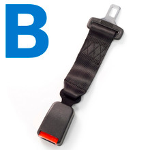 Type B Car Seat Belt Extender