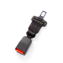 "Regular Seat Belt Extender - 7"" and black"