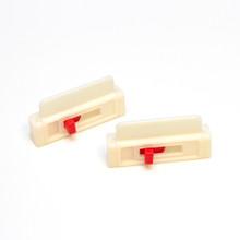 Seat Belt Tension Adjuster - white (2-pack)