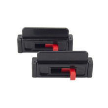 Seat Belt Tension Adjuster - (2-pack) black