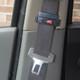 Seat Belt Tension Adjuster on a seat belt