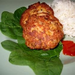 Salmon Cakes in Packages of Four!