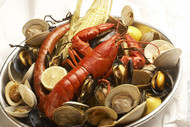 Summer Clambake Dinner for 4 with Clam Chowder