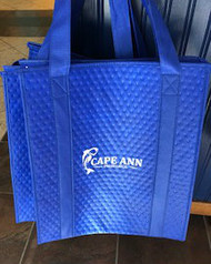 Insulated Bag that you can use to pick up your fish!  You can of course use this zippered bag with the removable hard bottom that you can clean!  I even take the hose to mine!