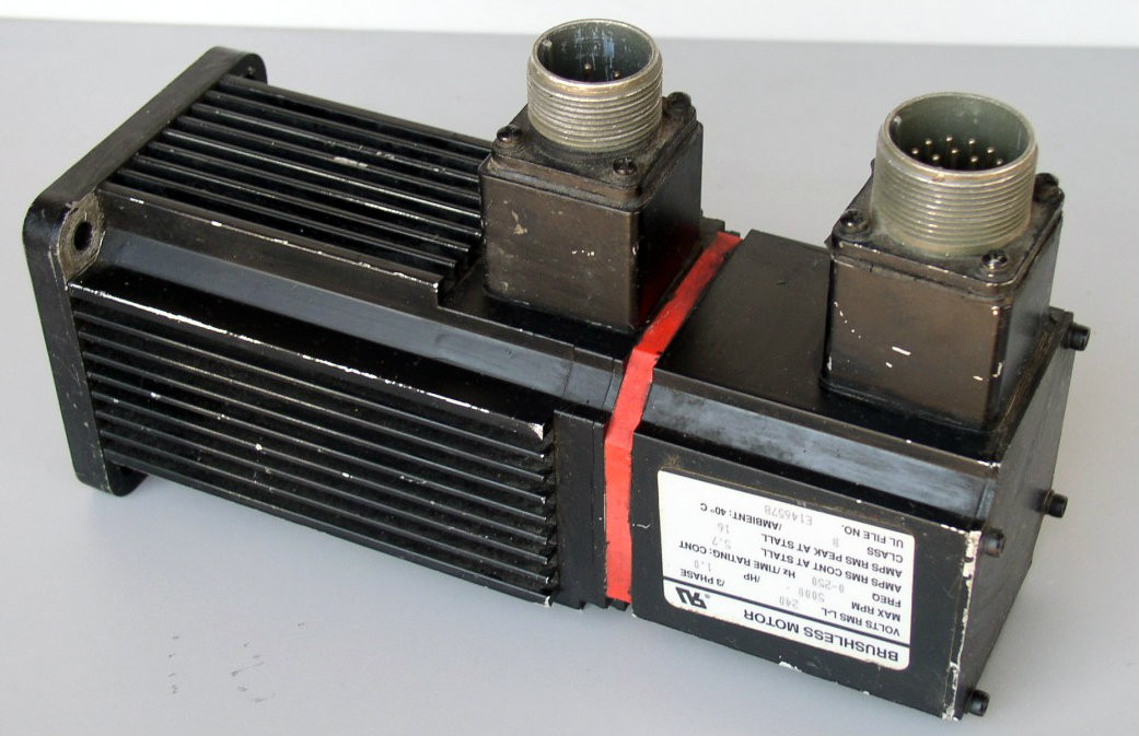 Reliance Electric Electro Craft Servo Motor 6033 03 812 Ebay