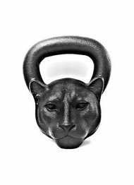 26 Lb | 12 KG Black Panther Kettlebell
