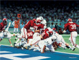 The Goal Line Stand - Collegiate Classic 8x10
