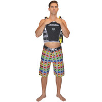 Metro Men's Board Shorts PWC Jetski Ride & Race Apparel