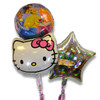 Bouquet of 3 Balloons, Girl Characters