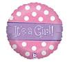 It's A Girl Sparkle Balloon