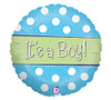 It's a Boy Sparkle Balloon