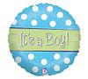 It's A Boy Sparkle Balloon