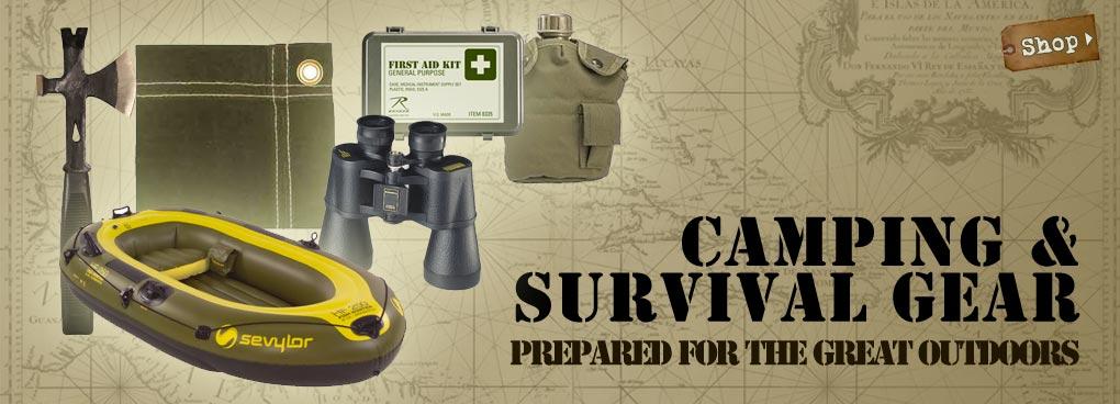 Camping & Survival Gear