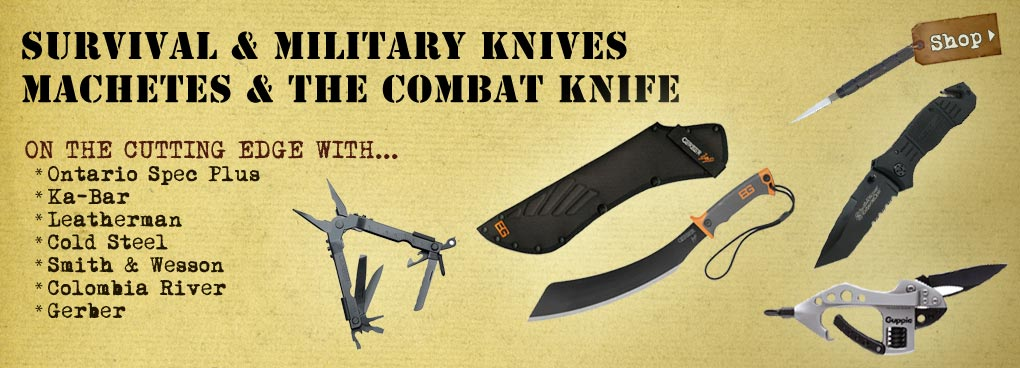 Survival and Military Knives