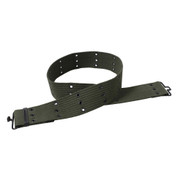 G.I. Style Olive Drab Canvas Pistol Belt