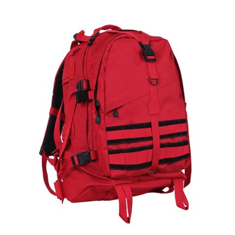 Red Large Transport Pack - Front View