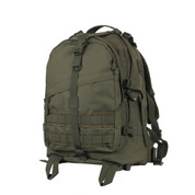 Olive Green Large Transport Pack - Front View