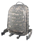 ACU Digital Camo MOLLE 3 Day Assault Pack - Front View