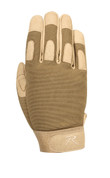 Coyote Brown Lightweight All Purpose Duty Gloves - Front View