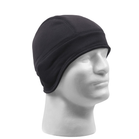 Alpine Arctic Fleece Cap / Helmet Liner - Black