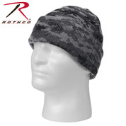 Subdued Urban Deluxe Camo Watch Cap - Digital