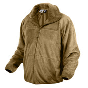 Coyote Gen III Level 3 ECWCS Polar Fleece Jacket - Side View