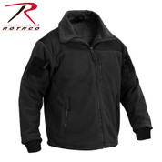 Rothco Spec Ops Tactical Fleece Jacket - Right Side View