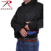 Rothco Concealed Carry Hoodie Pullover - Inside View