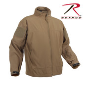 Rothco Covert Ops Light Weight Soft Shell Jacket - Right Side View